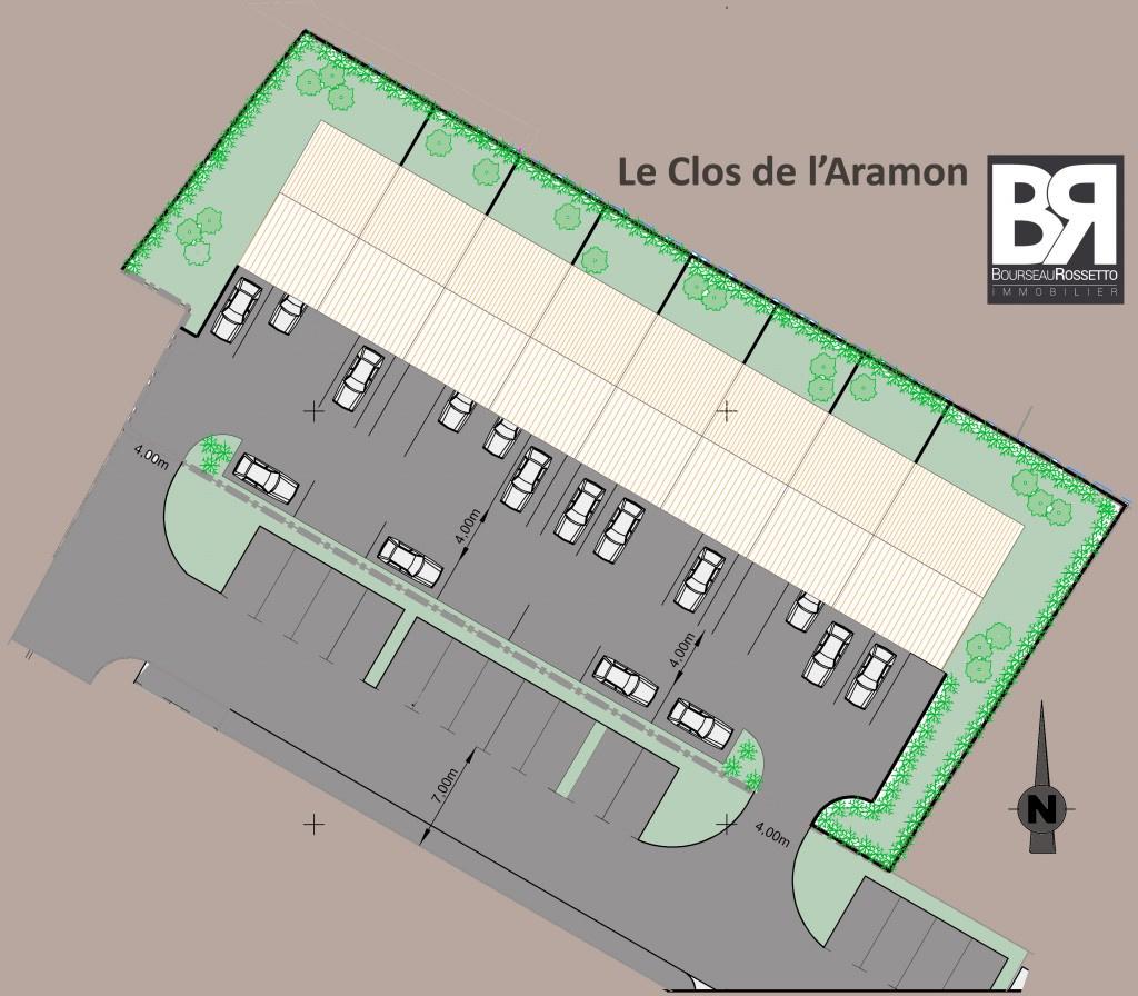 Le Clos de l'Aramon - 8 lots de terrain à batir
